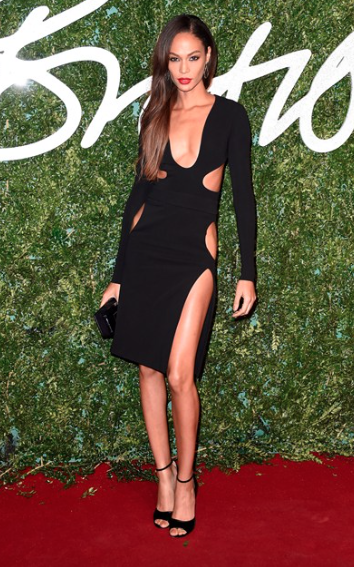 Joan Smalls wearing Tom Ford Photo by Getty