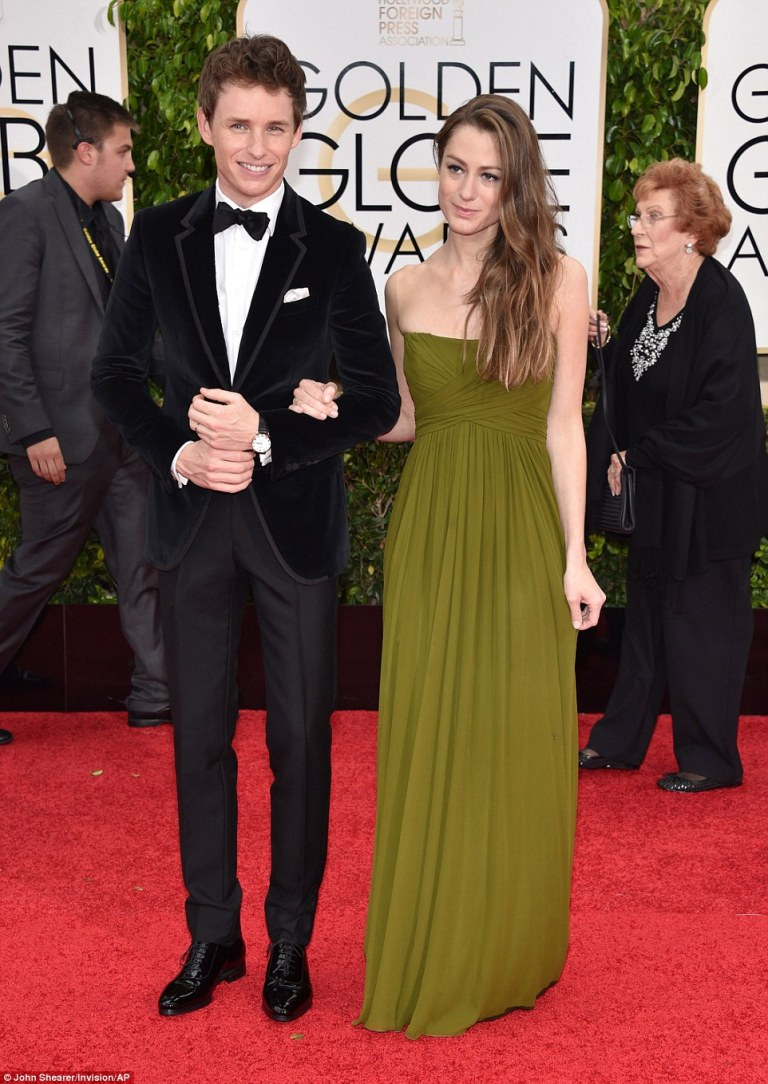 How adorable is Eddie Redmayne and his new bride? I am obsessed with her olive gown and his velvet blazer. The colour & texture go together so well, perfect for their young bohemian london style.