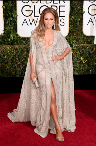 J-Lo as potentially my favourite look of the night. Wearing a Zuhair Murad gown - which she has been saving since the AMAS! - she told Ryan Seacrest how she thought this dress was a bit more Golden Globes. Damn was she right. Definitely the hottest person on the red carpet last night.