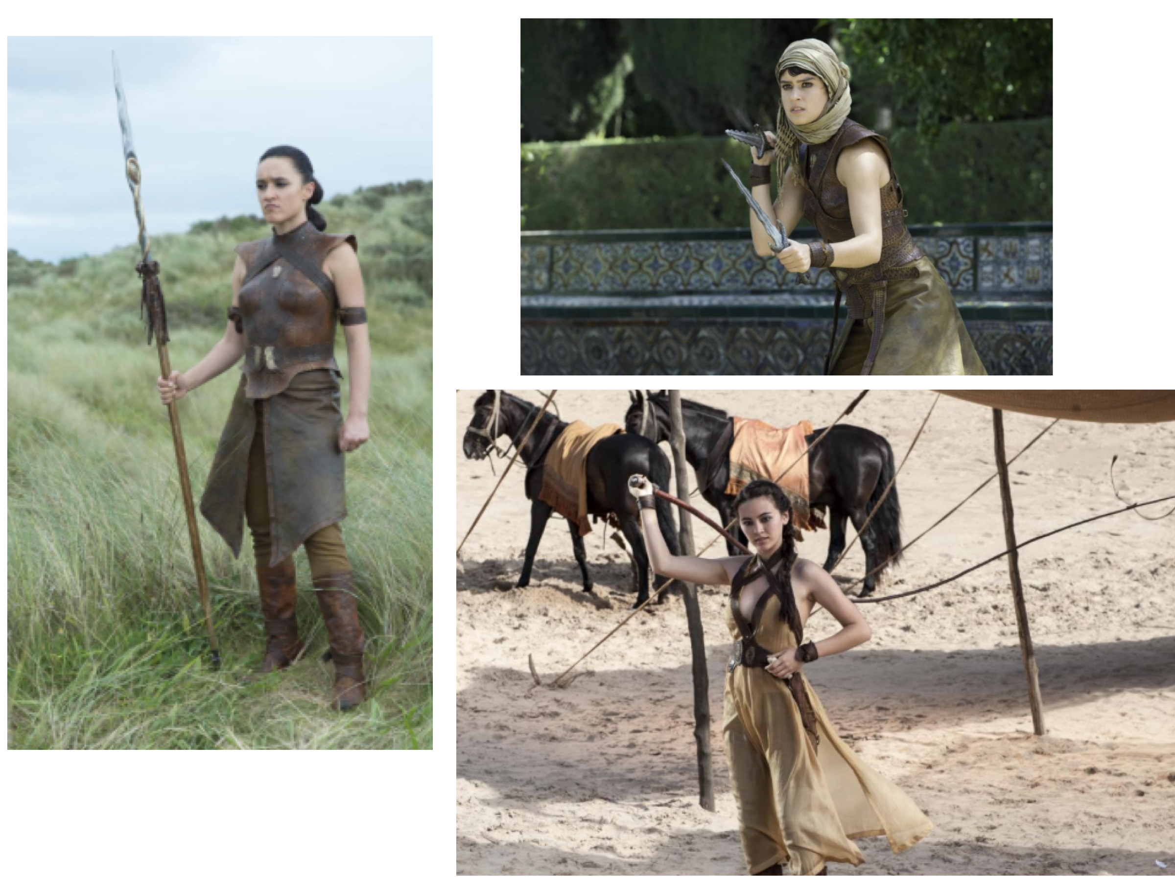 Obara Sand, played by Keisha Castle-Hughes  Nym Sand, played by Jessica Henwick Rosabell Laurenti Sellers as Tyene Sand I REALLY HOPE THAT THESE GIRLS EXCELL IN THEIR ROLES AS NOTHING UPSETS ME MORE THAN SHIT ACTORS LANDING DREAM ROLES! and to play a Sand - dream role!