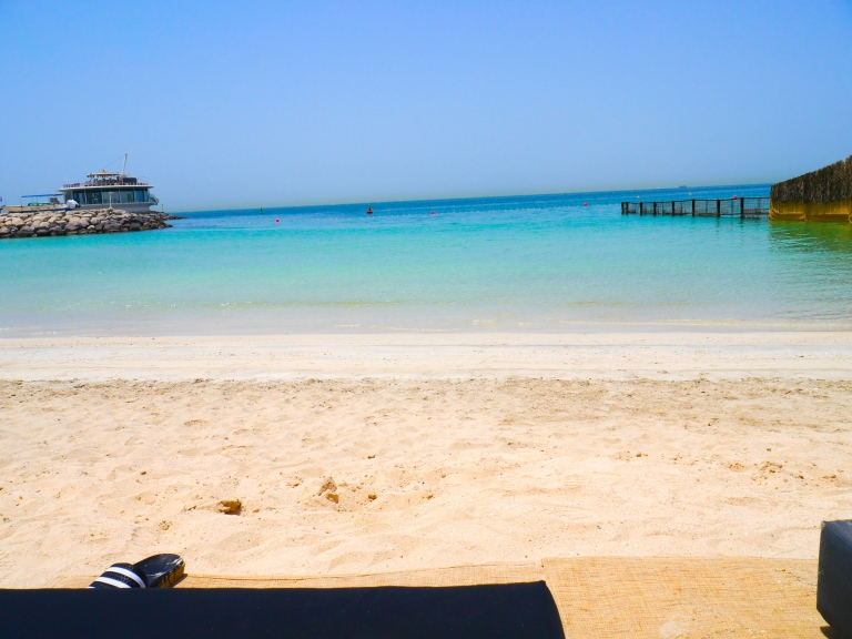 cove beach club || the persian gulf