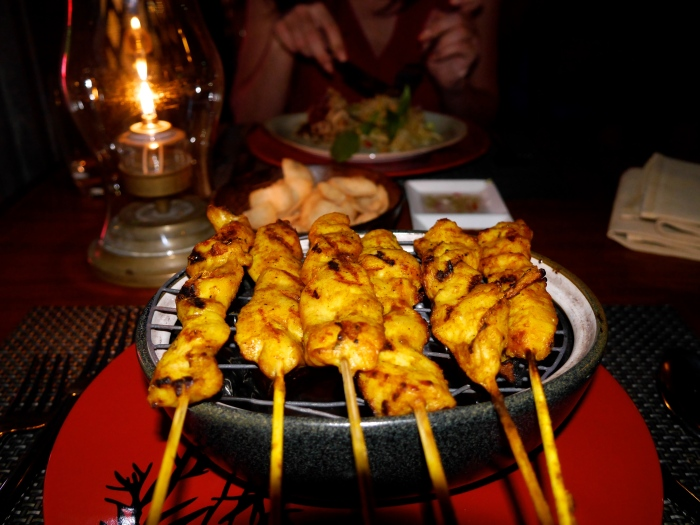 chicken satay mmMMMm