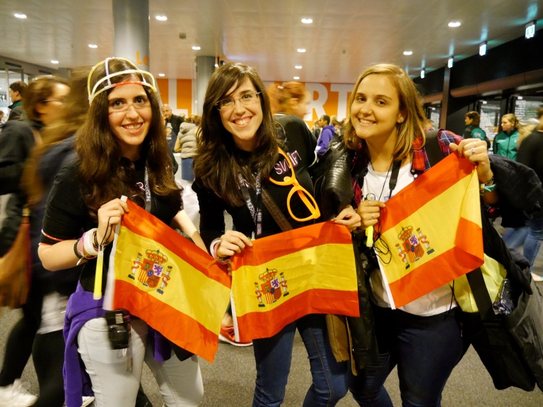 fans from Spain @cristiru94 @carruisan @loladelmoral