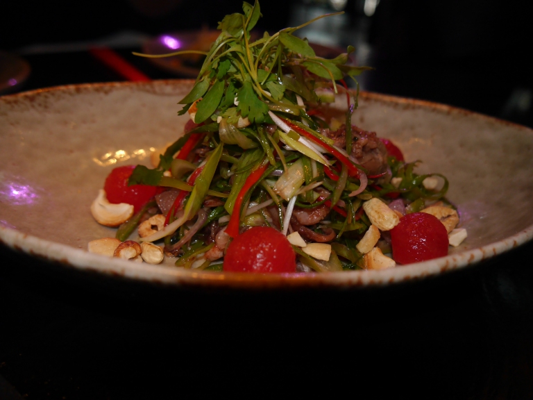 DUCK AND WATERMELON SALAD
